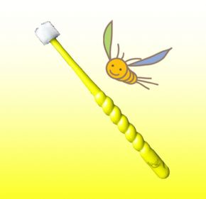 360do BRUSH for KIDS - YELLOW